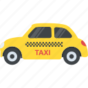 cab, taxi, transport, transportation, travelling icon