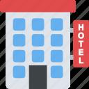 city building, hotel, motel, tourist home, tourist guest house