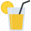 beverage, lemon juice, lemonade, martini, summer drink icon