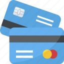 atm card, credit card, debit card, smart banking, visa card icon