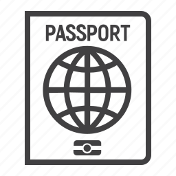 citizenship, document, global, id, international, passport, travel icon