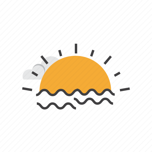 Holiday, summer, sun, sunset, vacation icon - Download on Iconfinder
