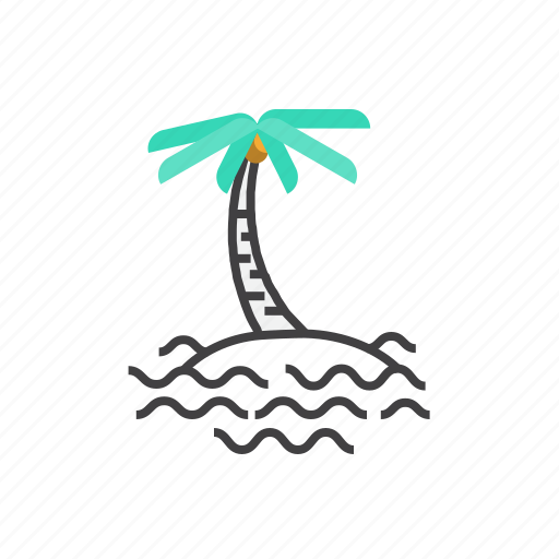Beach, holiday, summer, tourism, tropical, vacation icon - Download on Iconfinder