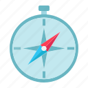 compass, direction, discovery, map, navigator, travel icon
