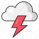 climate, thunder, cloud, forecast, weather