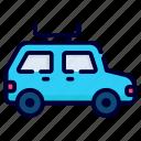 taxi, travel bus, travel, camping, car, transportation, vehicle