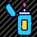 lighter, flam, fire, oil, cigarette, flammable, butane