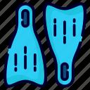 flipper, swimming, swim, diving, equipment, flippers, camping