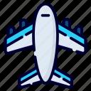 airplane, plane, transportation, travel, aircraft, flight