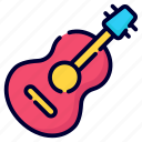 guitar, music, key, instrument, acoustic, musical, button