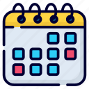 calendar, appointment, date, schedule, time, event, holidays
