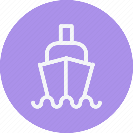 cargo, ecommerce, ship, shipping, transport, transportation, vessel icon
