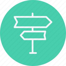 arrows, direction, directions, left, location, navigation, right icon