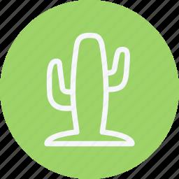 cactus, desert, desert cactus, nature, plant, tree, water icon