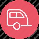 car, caravan, transportation, travel, vacation, van, vehicle
