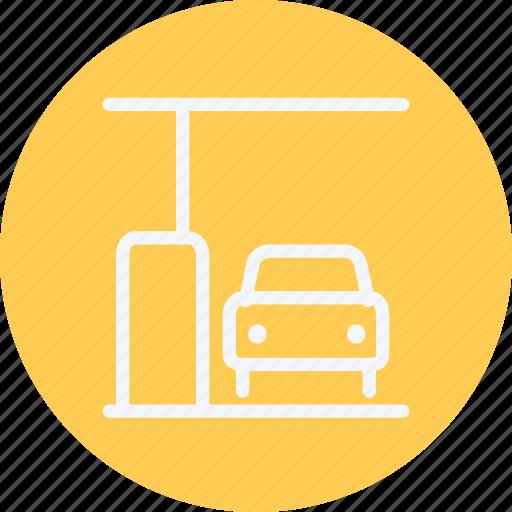 car, fuel, gas, gasoline, petrol, pump, station icon