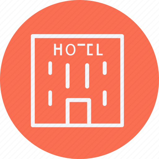 building, estate, hotel, office, service, travel, vacation icon