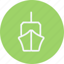 boat, cruise, ship, shipping, transport, transportation, vessel icon