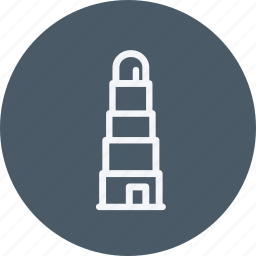 communication, connection, essential, interaction, lighthouse, signal, tower icon