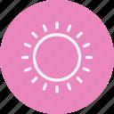 sun, hot, weather, cloudy, forecast, night, rain