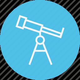 astronomy, experiment, laboratory, science, space, telescope, universe icon