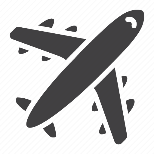 Aircraft, airplane, airport, fly, plane, tourism, travel icon - Download on Iconfinder