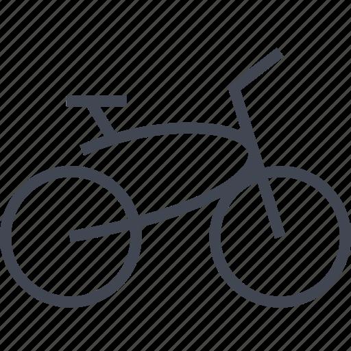 beach, bike, cruiser, wheels icon