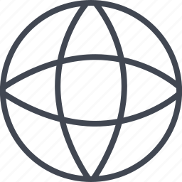 globe, internet, web, wide, world icon