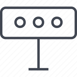 event, outdoors, outside, sign icon