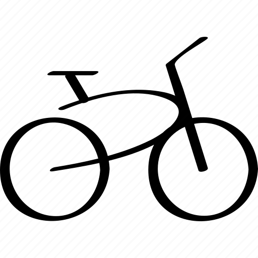 bicycle, bike, cruiser icon