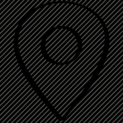 gps, locate, location icon