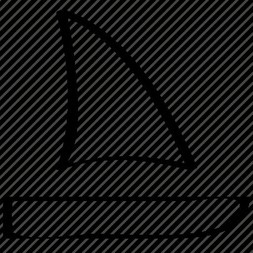 boat, overseas, sail, sailing icon