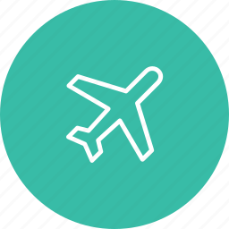 airplane, airway, ball, flight, travel, travelling, vacation icon