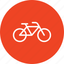 ball, cycle, cycling, travel, travelling, vacation icon