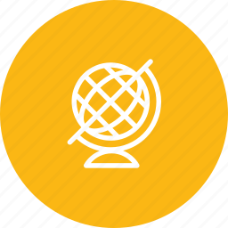 ball, earth, map, travel, travelling, vacation icon