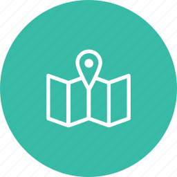 ball, map, travel, travelling, vacation icon