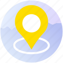 apps, booking, destination, gps, location, travel, trip icon