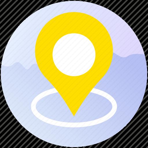 apps, booking, destination, gps, location, travel, trip icon