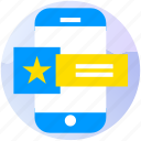 apps, booking, critique, feedback, review, travel, trip icon