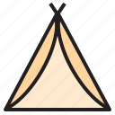 airplane, boat, food, shop, tent, travel, traveller icon