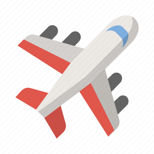 airplane, explore, flight, fly, plane, travel, vacation icon