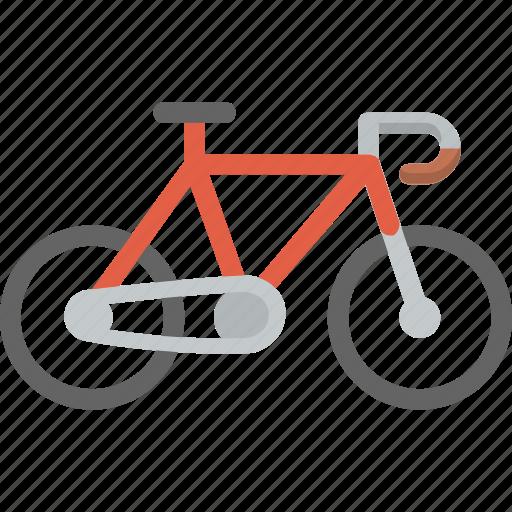 bicycle, bike, commute, fixie, green, schwinn, transportation icon