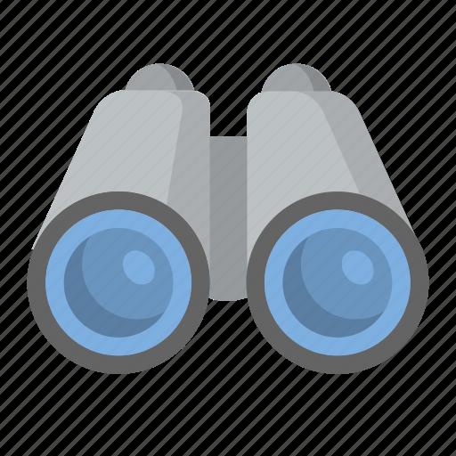 binoculars, explore, look, search, zoom icon