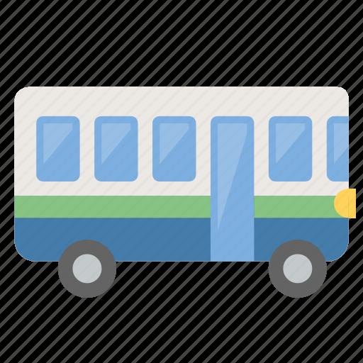 bus, metro, public, transportation icon