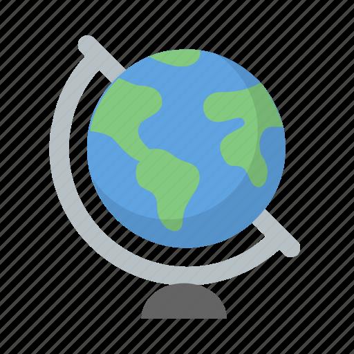 explore, geography, globe, school, travel, world icon