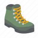 backpacking, boot, explore, hike, hiking, nature, trek icon