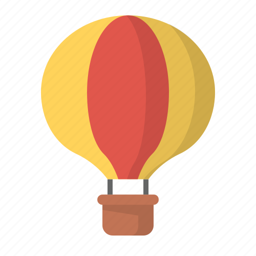 activity, balloon, browse, explore, fly, hot air, hover icon