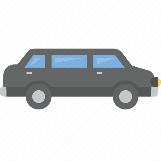 driver, limo, limousine, prom, uber icon