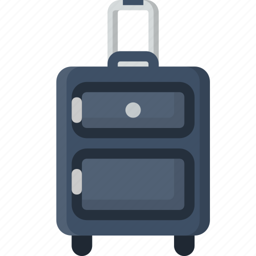 carry on, luggage, suitcase, travel icon