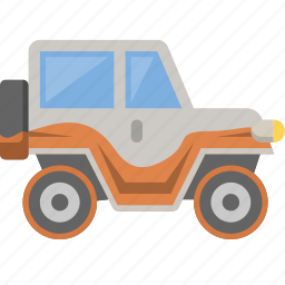 country, jeep, mudding, offroad, truck, vehicle, wrangler icon
